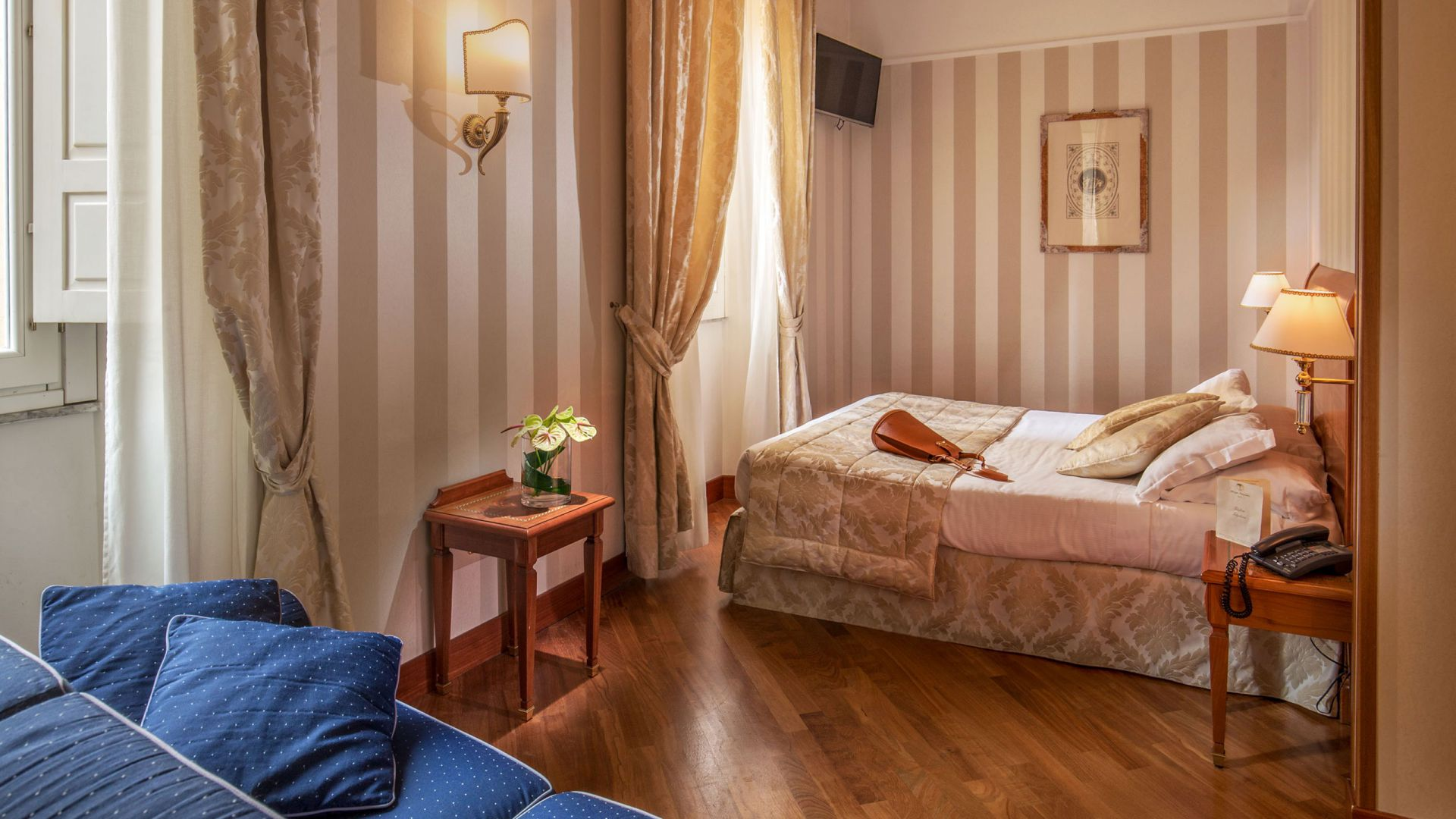 albergo-ottocento-rome-triple-room-deluxe-10